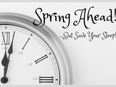 Spring Forward But Save Your Child's Sleep